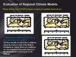 evaluation of regional climate models13