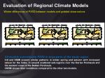 evaluation of regional climate models14