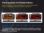 trend analysis of climate indices