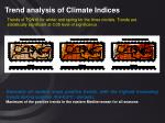 trend analysis of climate indices25