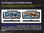 trend analysis of climate indices26