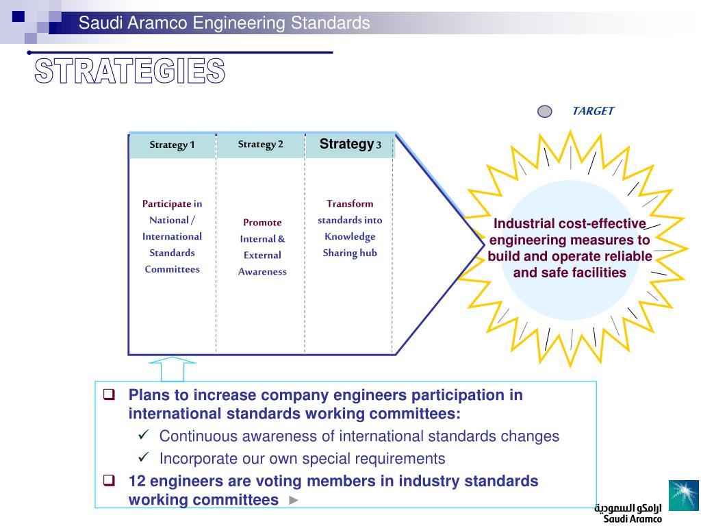 PPT - Saudi Aramco Engineering Standards PowerPoint Presentation