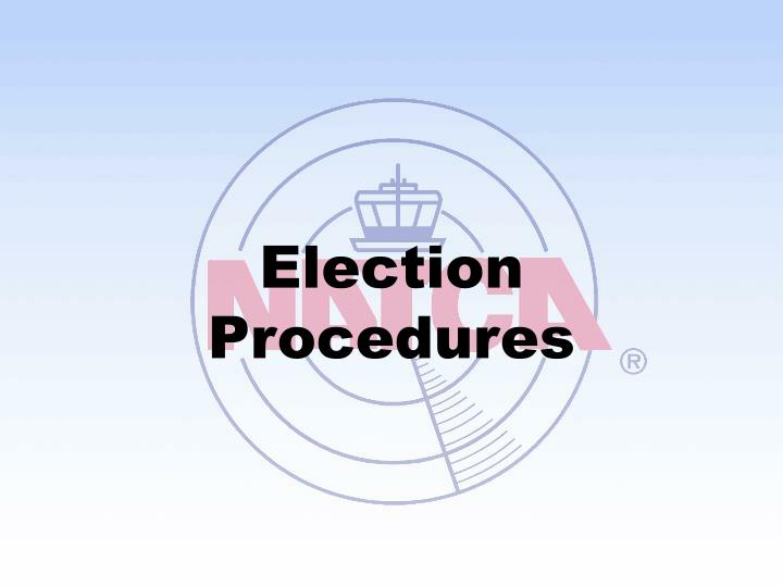 election procedures n.