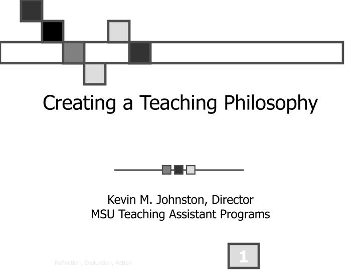 creating a teaching philosophy n.