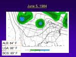 june 5 1984