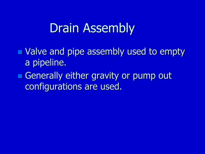 Drain Assembly