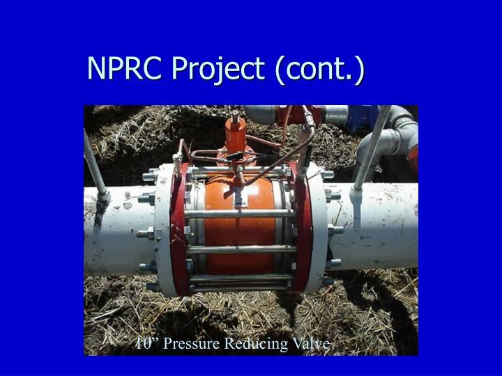 NPRC Project (cont.)