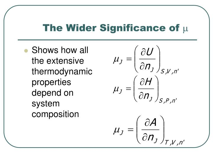 The Wider Significance of
