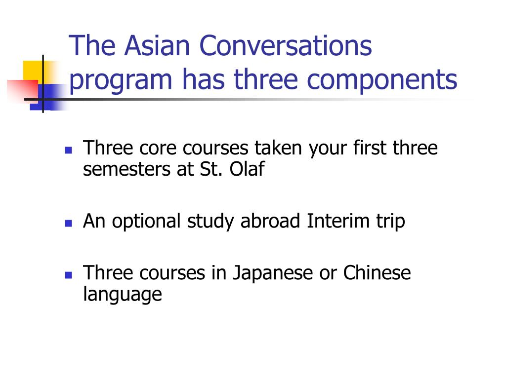The Asian Conversations