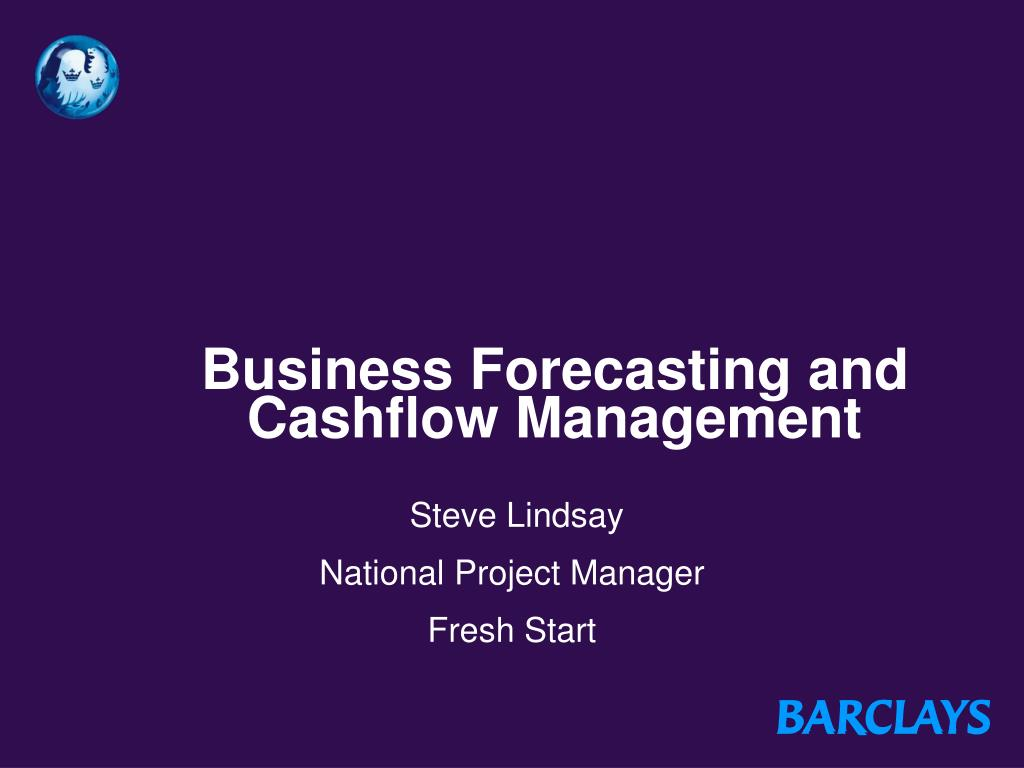 business forecasting and cashflow management l.