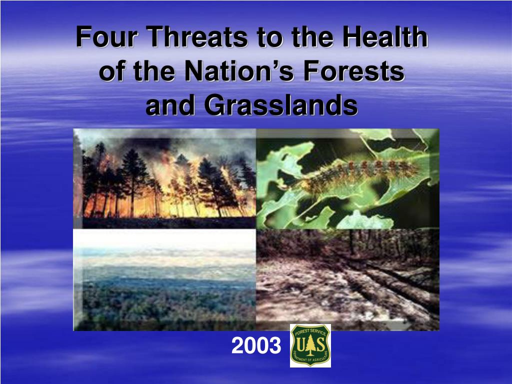 Four Threats to the Health