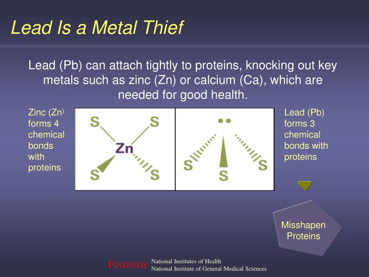 Lead Is a Metal Thief