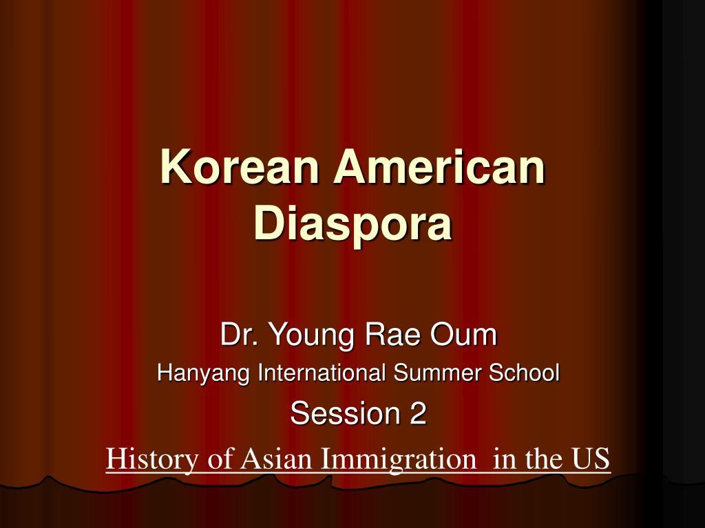 korean american diaspora l.