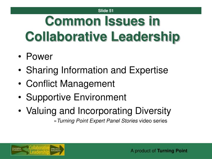 Common Issues in Collaborative Leadership