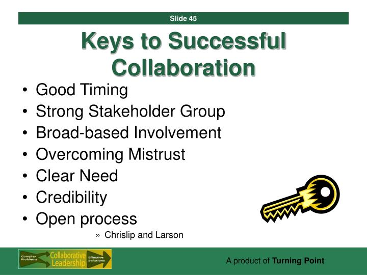 Keys to Successful Collaboration