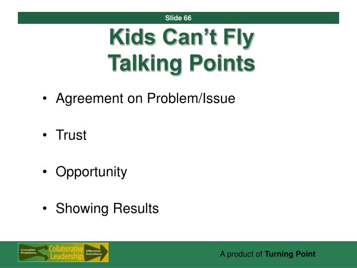Kids Can't Fly