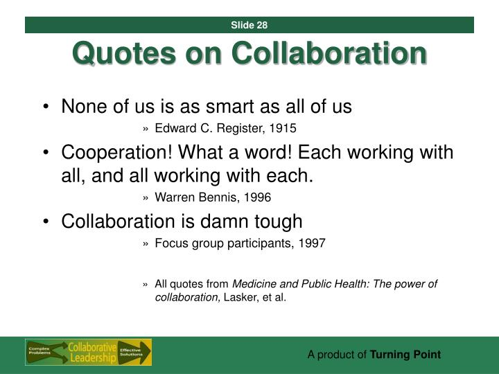 Quotes on Collaboration