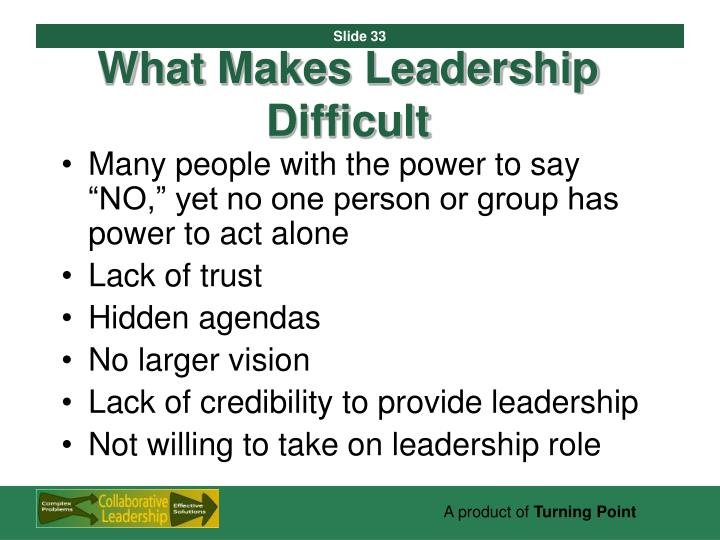 What Makes Leadership Difficult