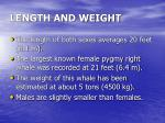 length and weight26