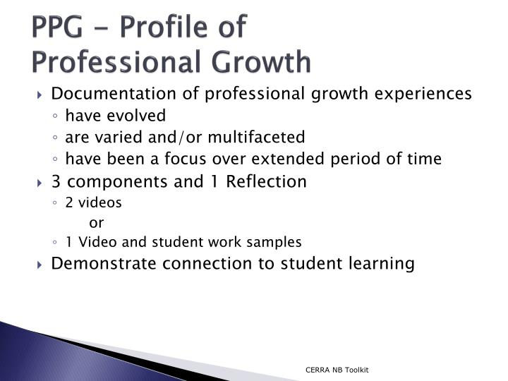 PPG - Profile of