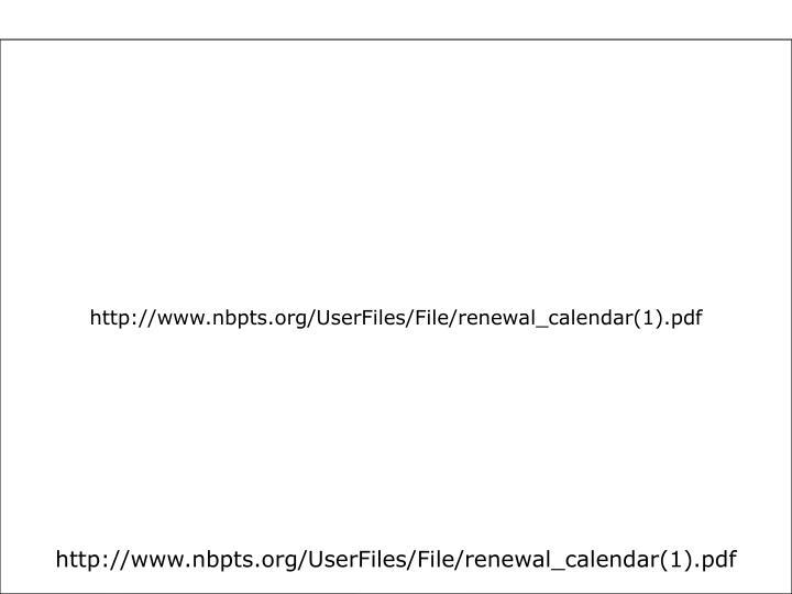 http://www.nbpts.org/UserFiles/File/renewal_calendar(1).pdf