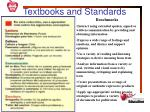 textbooks and standards2