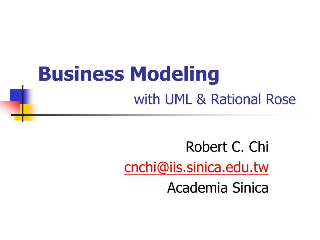 business modeling with uml rational rose l.