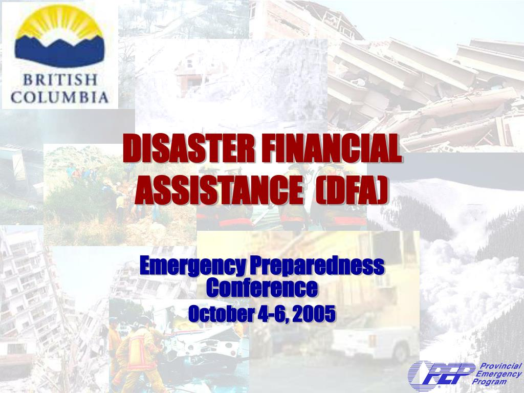 disaster financial assistance dfa l.