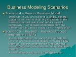 business modeling scenarios10
