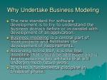 why undertake business modeling