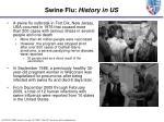 swine flu history in us