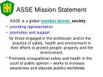 asse mission statement