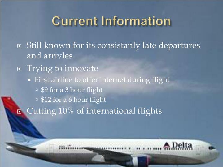 Current Information
