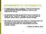 superiority vs incongruity