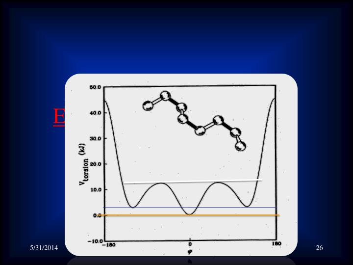 Energy and Conformational States in Polymers