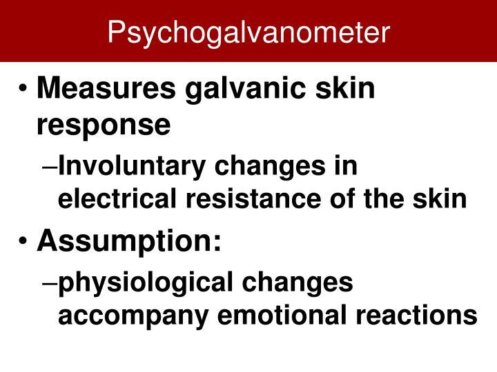 Psychogalvanometer