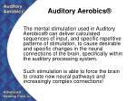 auditory aerobics26
