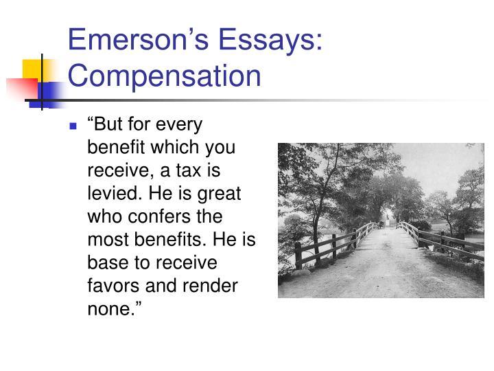 Emerson's Essays: Compensation