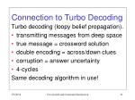 connection to turbo decoding