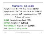 modules cluedb