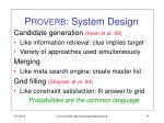 p roverb system design
