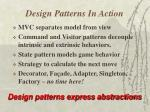 design patterns in action