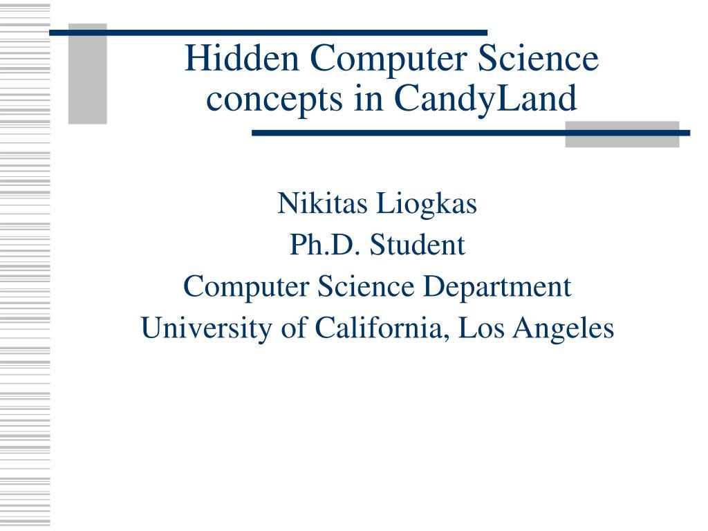 nikitas liogkas ph d student computer science department university of california los angeles l.