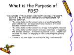 what is the purpose of pbs