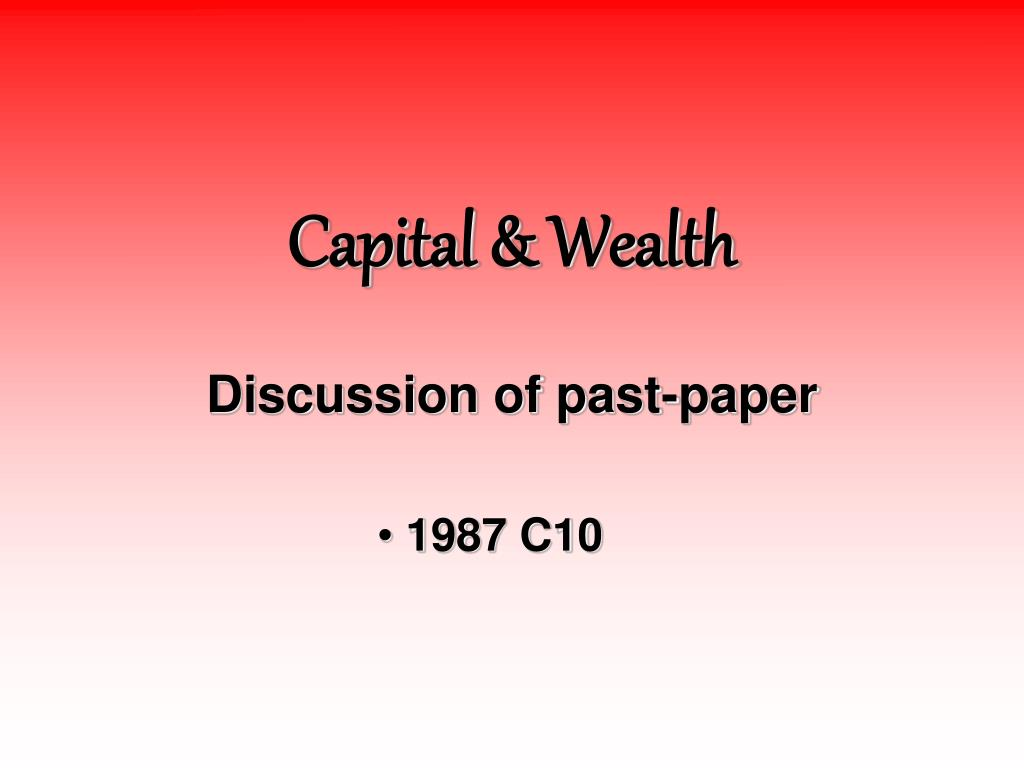 capital wealth l.