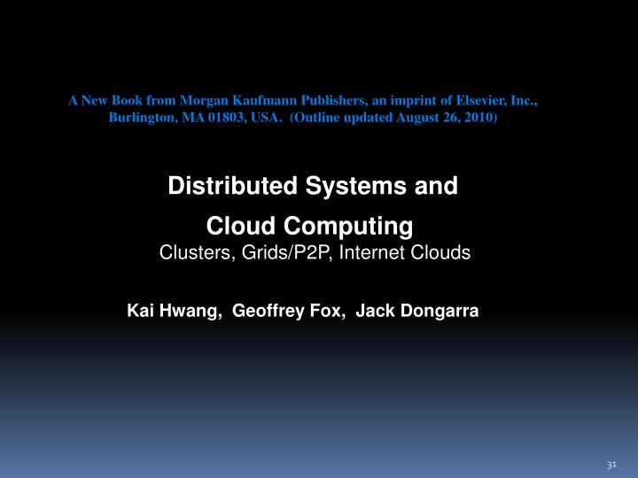 A New Book from Morgan Kaufmann Publishers, an imprint of Elsevier, Inc.,