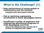 what is the challenge 1