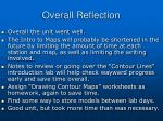 overall reflection