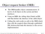 object request broker orb