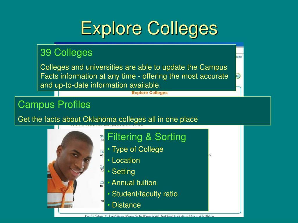 Explore Colleges